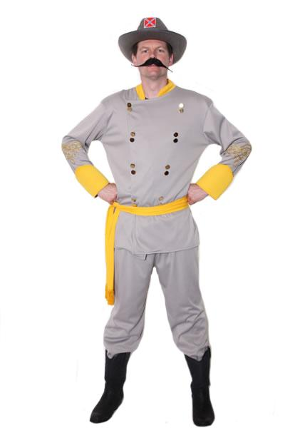 Confederate Officer Hire Costume