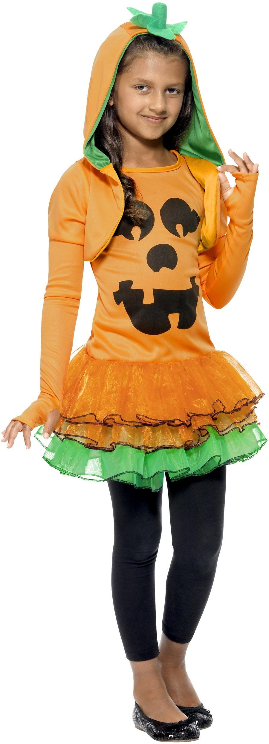 Kids Pumpkin Tutu Dress Costume
