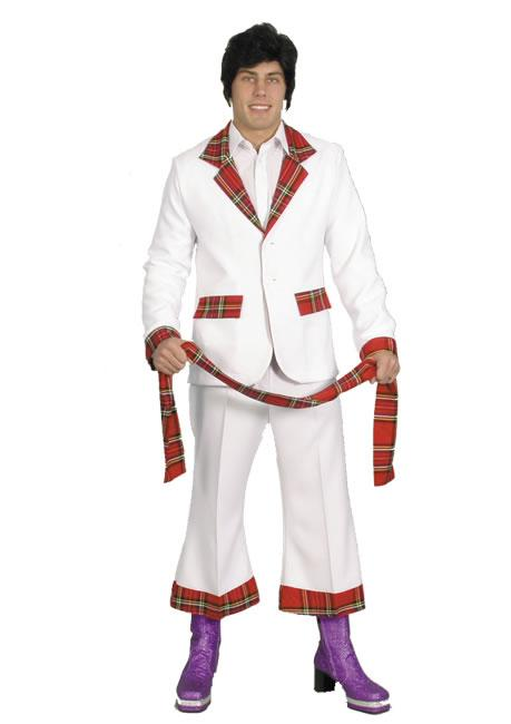 1970s Bay City Rollers Hire Costume
