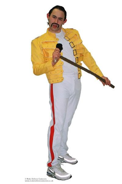 1980s Freddie Mercury Hire Costume