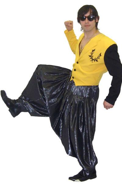 1990s MC Hammer Hire Costume