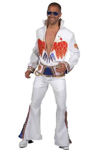 1970s Elvis White Hire Costume