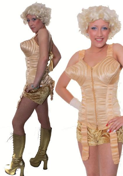 1990s Madonna Gold Hire Costume