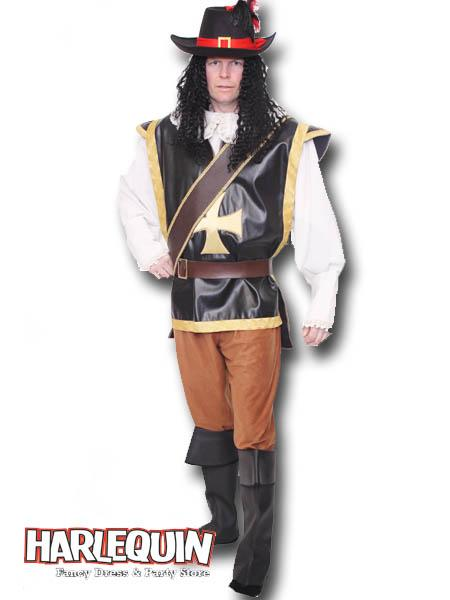Musketeer Man Hire Costume