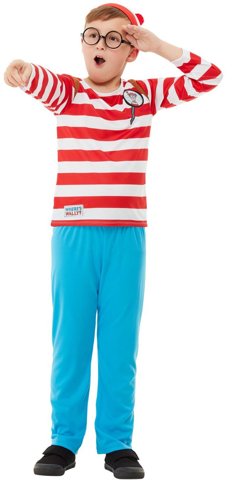 Kids Deluxe Where's Wally Costume