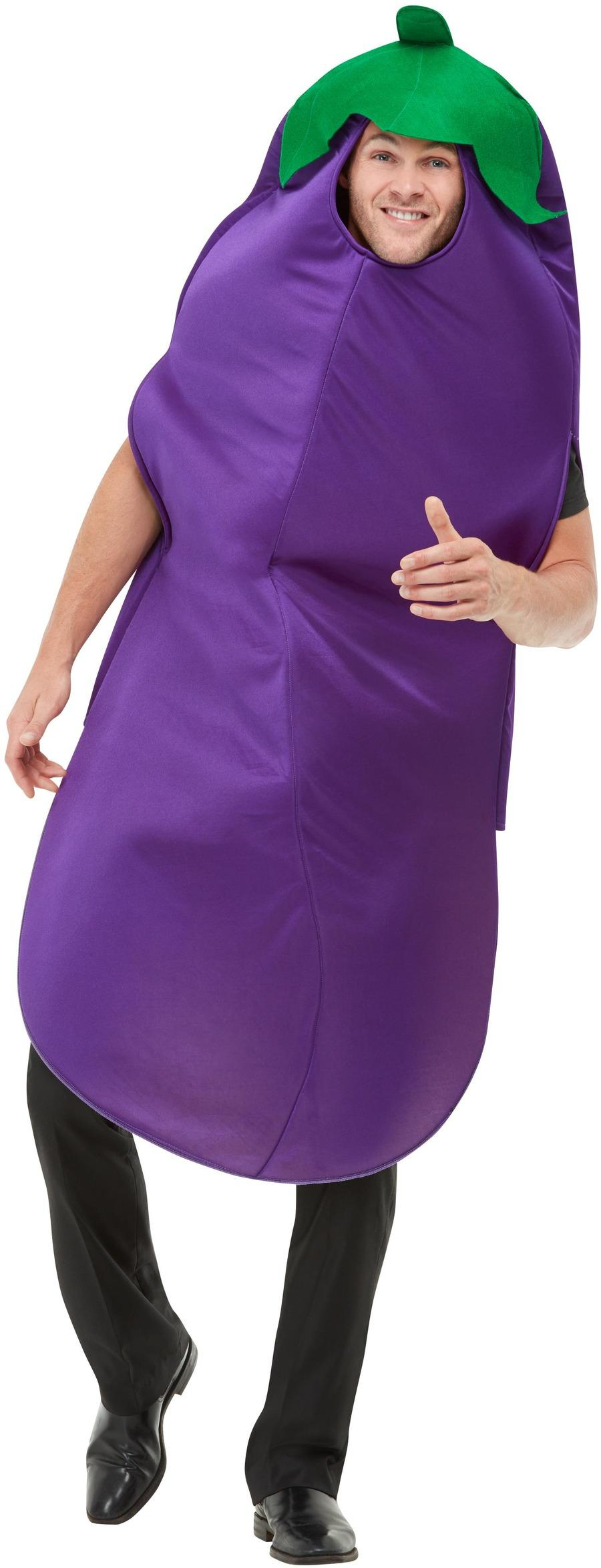 Aubergine Costume Purple