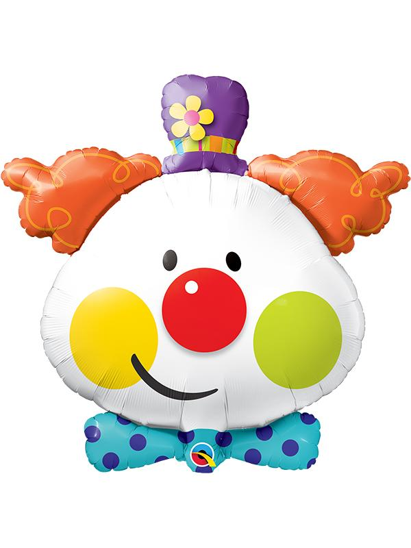 Foil Balloon Cute Clown