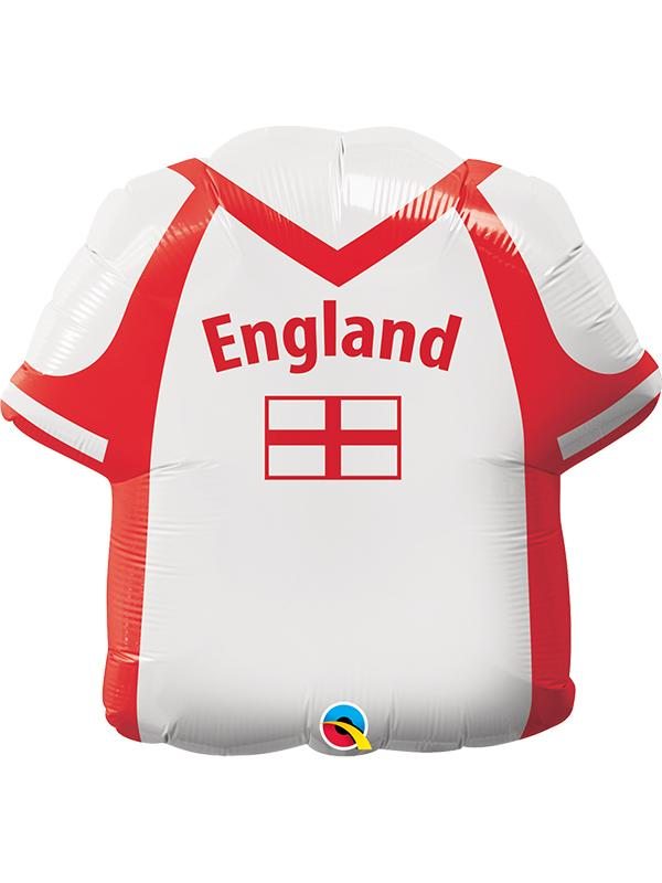 Foil Balloon England Football Shirt