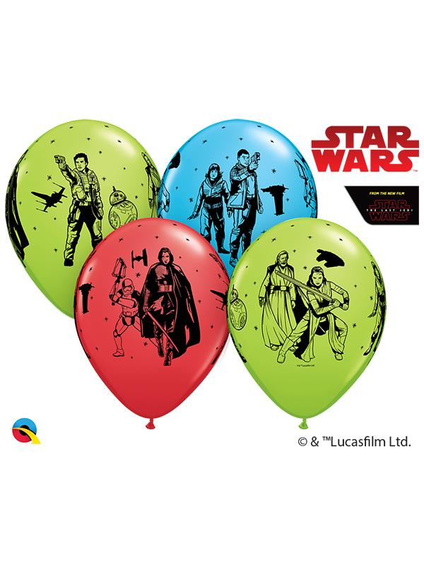 Latex Balloons Star Wars The Last Jedi