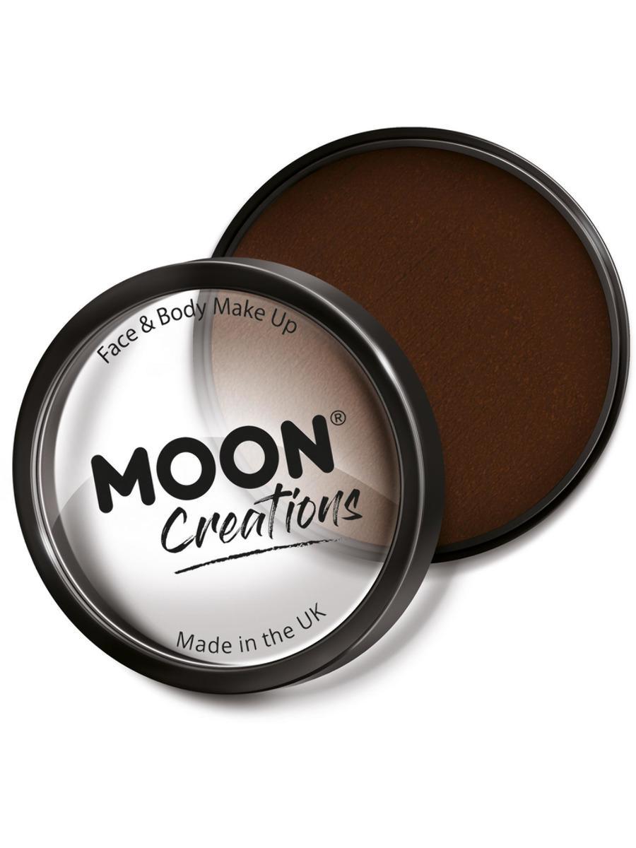 Moon Creations Pro Face Paint Dark Brown