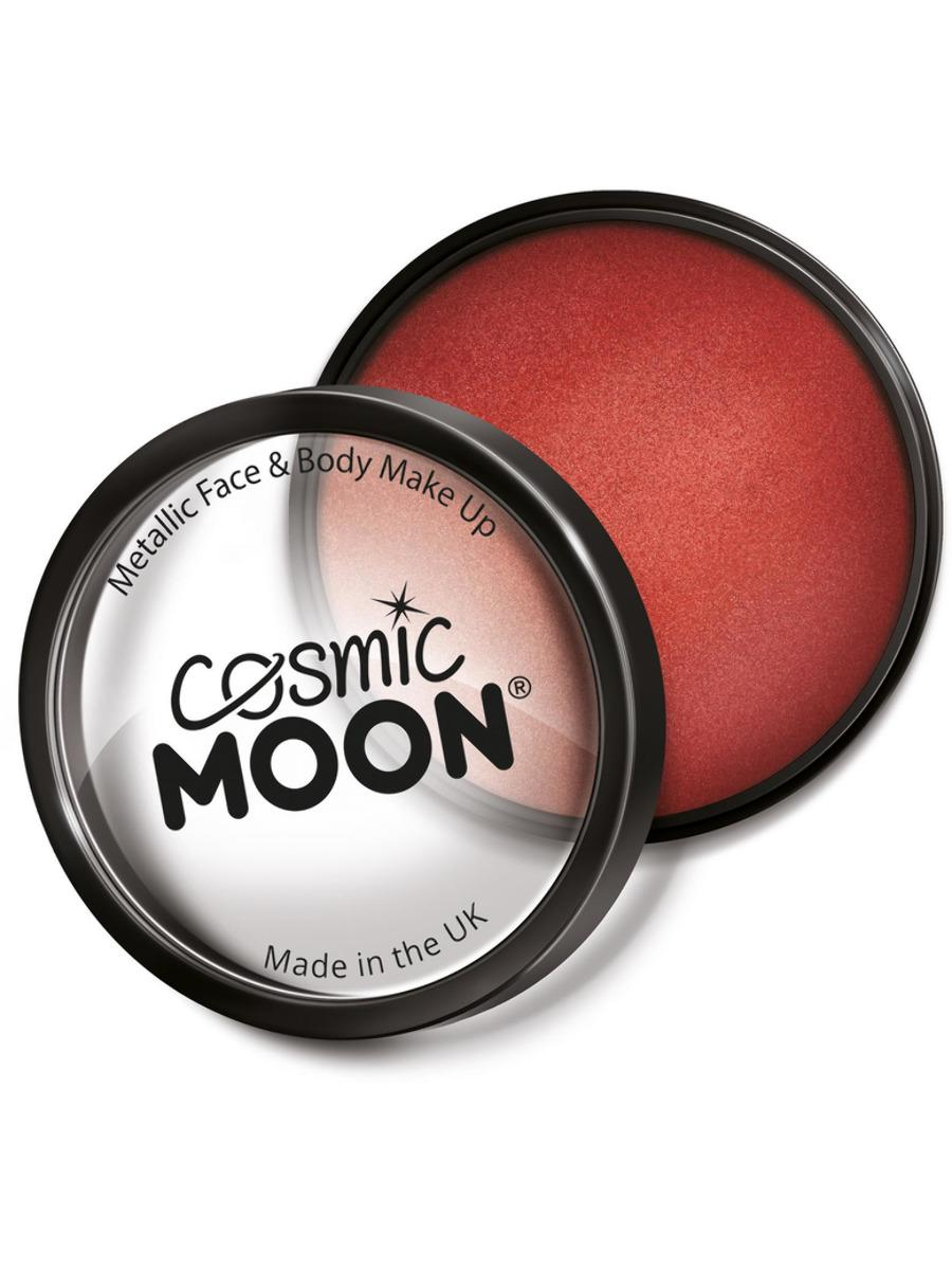 Moon Creations Metallic Pro Face Paint Red