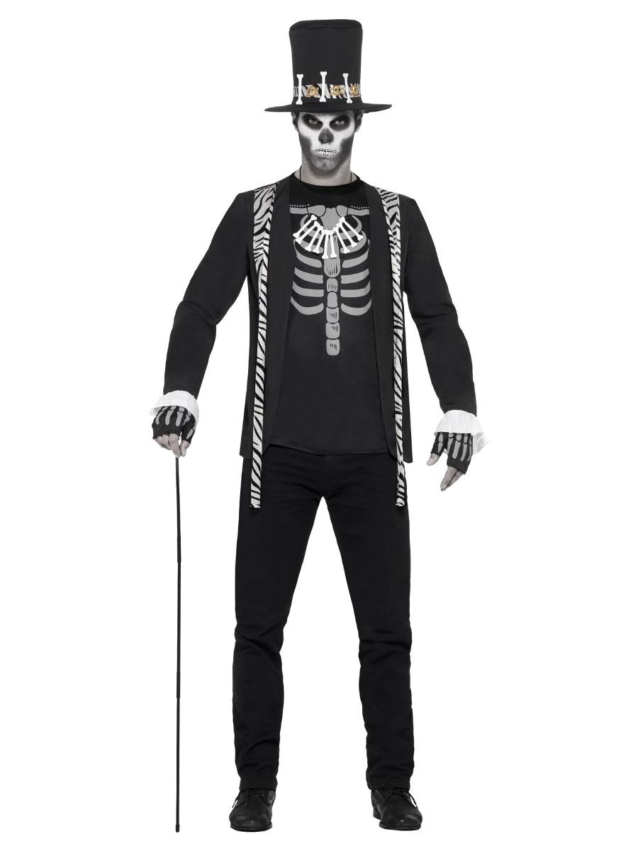 Witch Doctor Costume Black