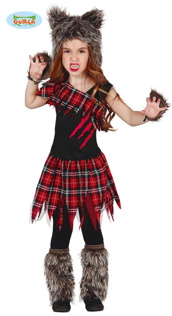 Kids Werewolf Girl Costume