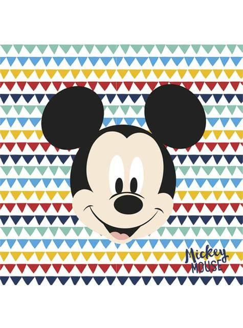 Paper Napkins Mickey Mouse