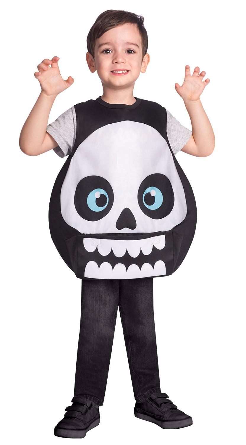 Kids Skeleton Tabard Costume