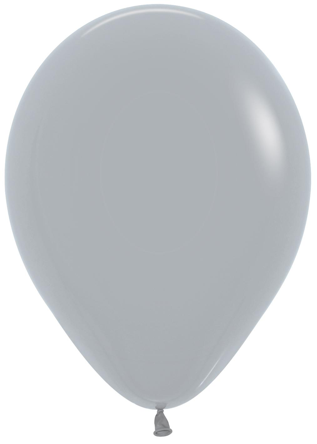 Standard Latex Balloons Grey