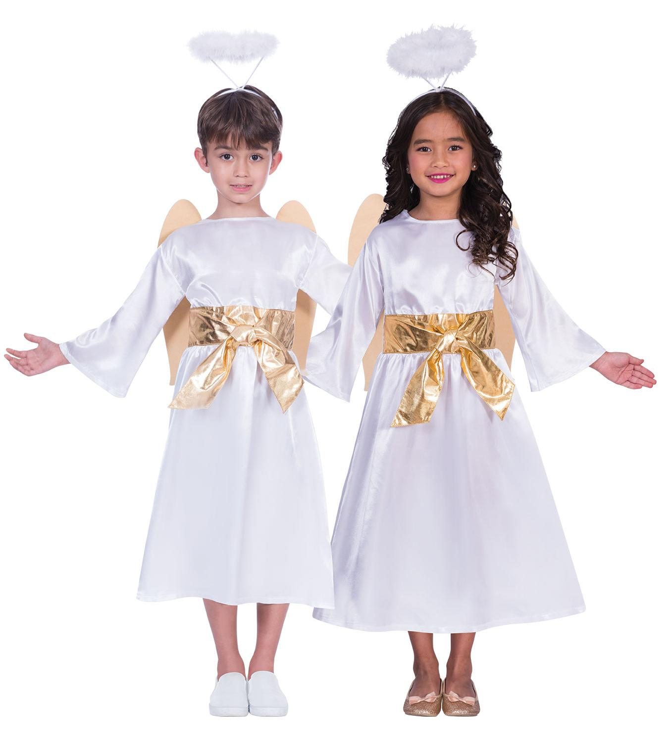 Kids Nativity Angel Gabriel Unisex Costume