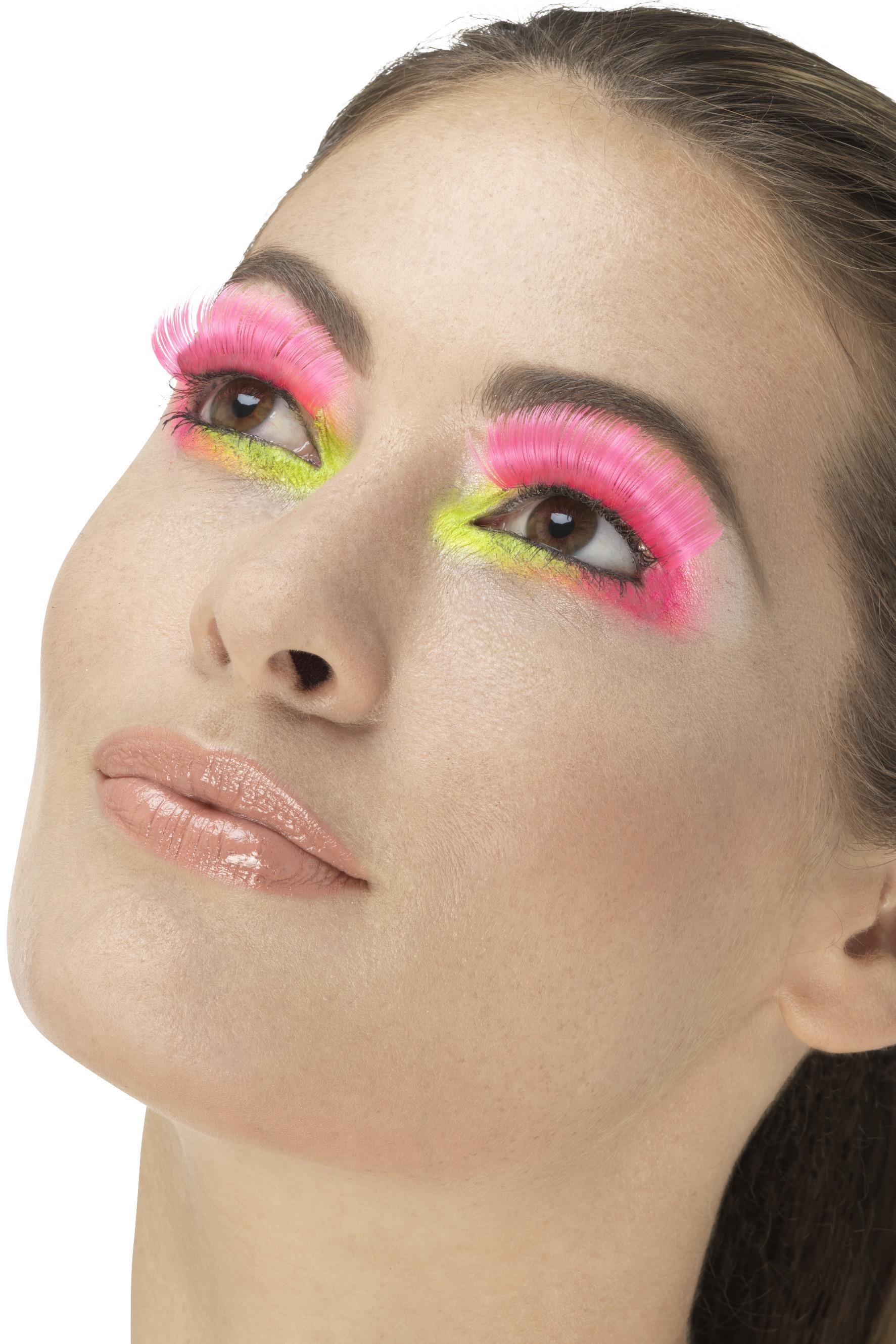 Party Eyelashes Neon Pink