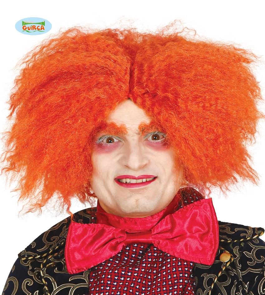 Mad Hatter Wig Orange