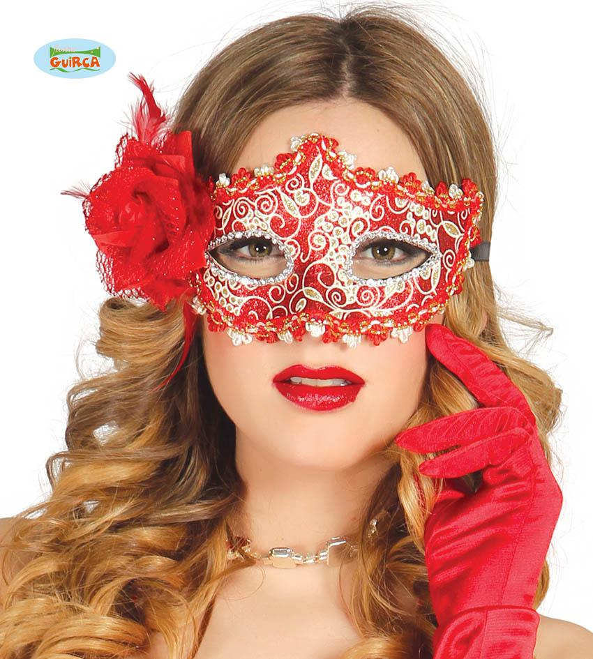 Red & Gold Eye Mask