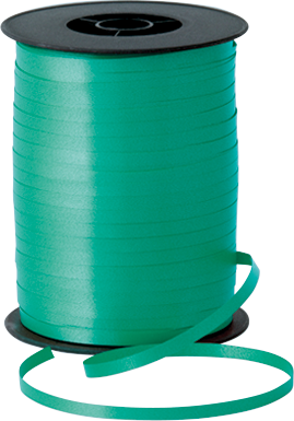 Balloon Curling Ribbon Emerald Green