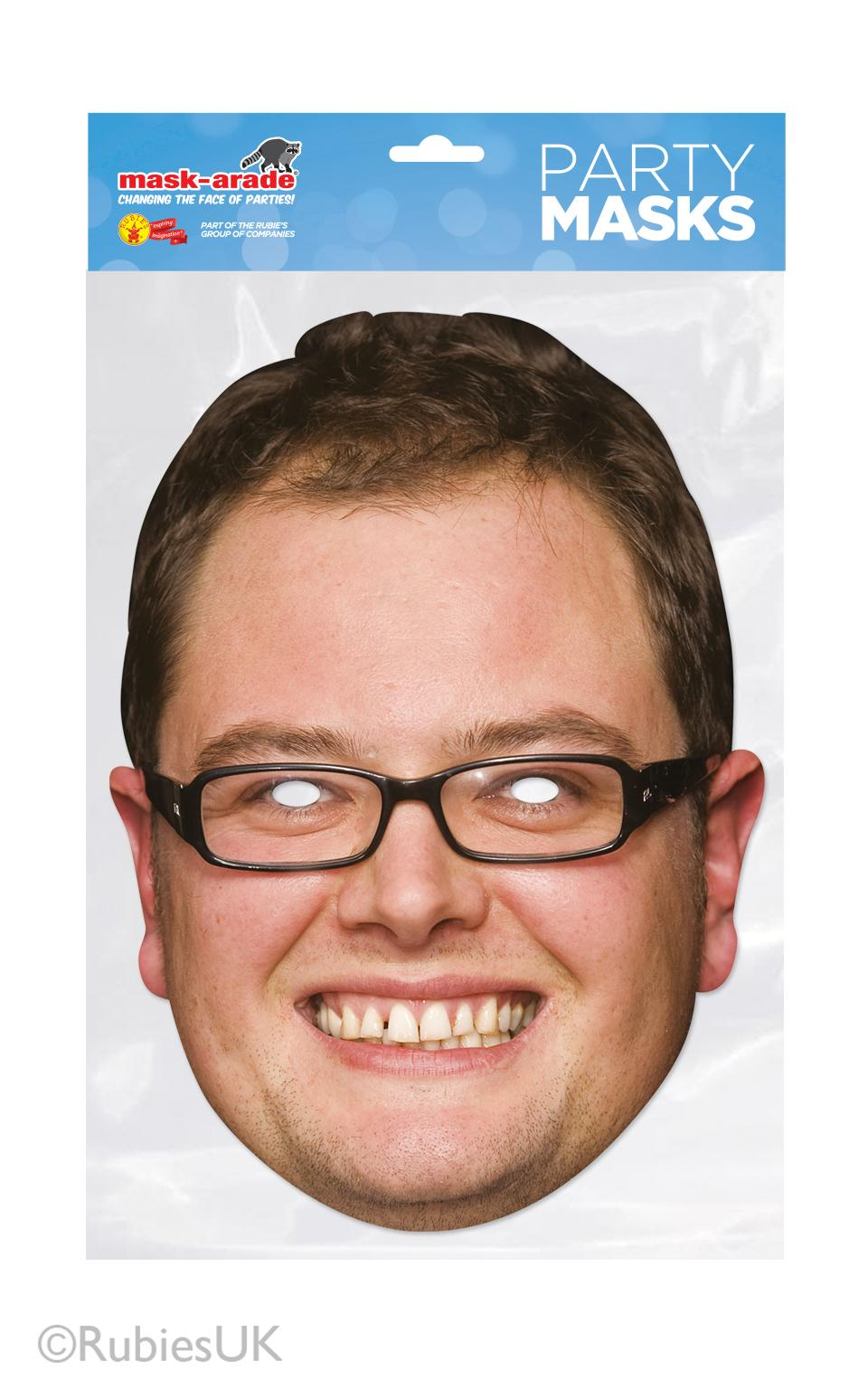 Alan Carr Face Mask