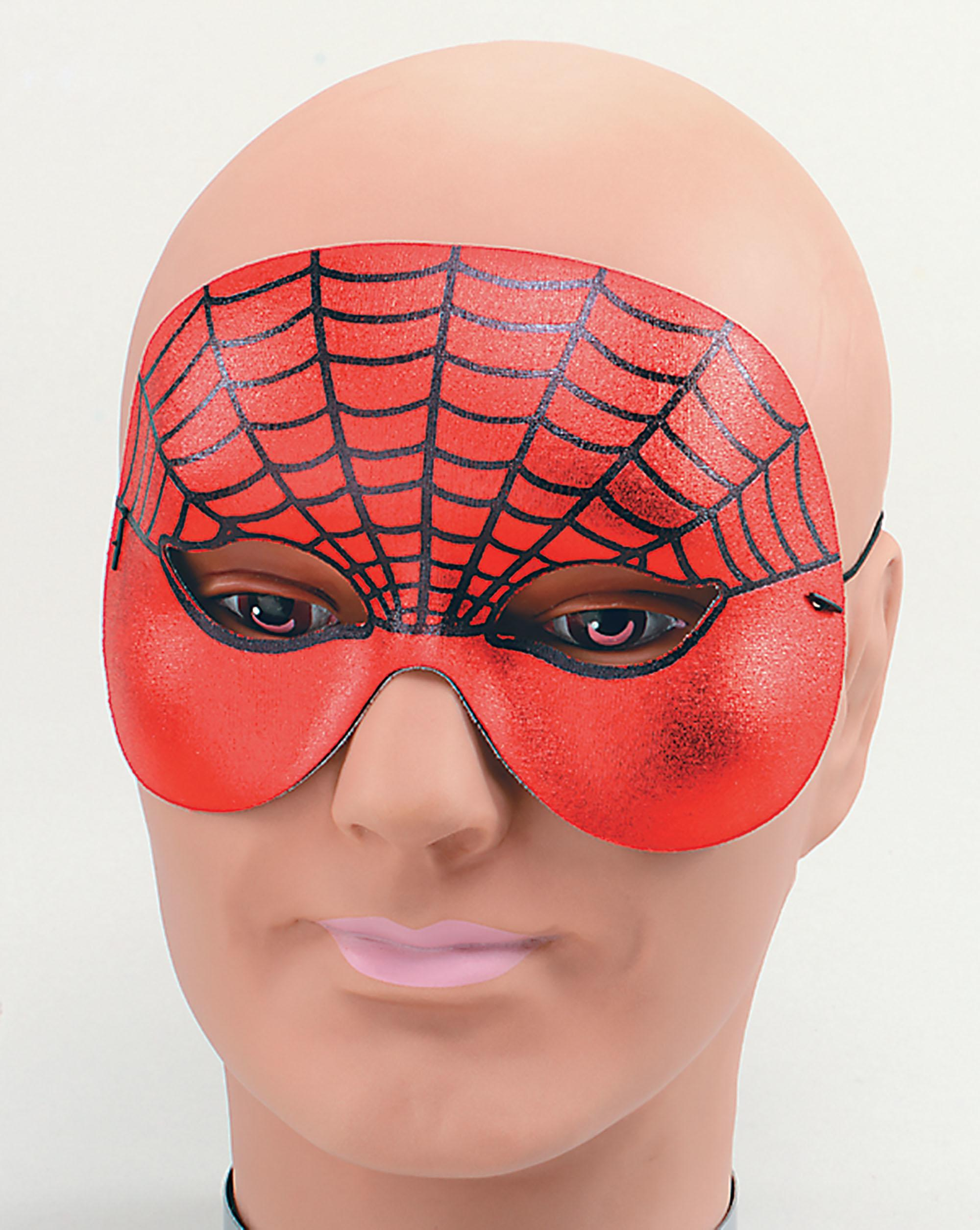 Spider Web Domino Eye Mask