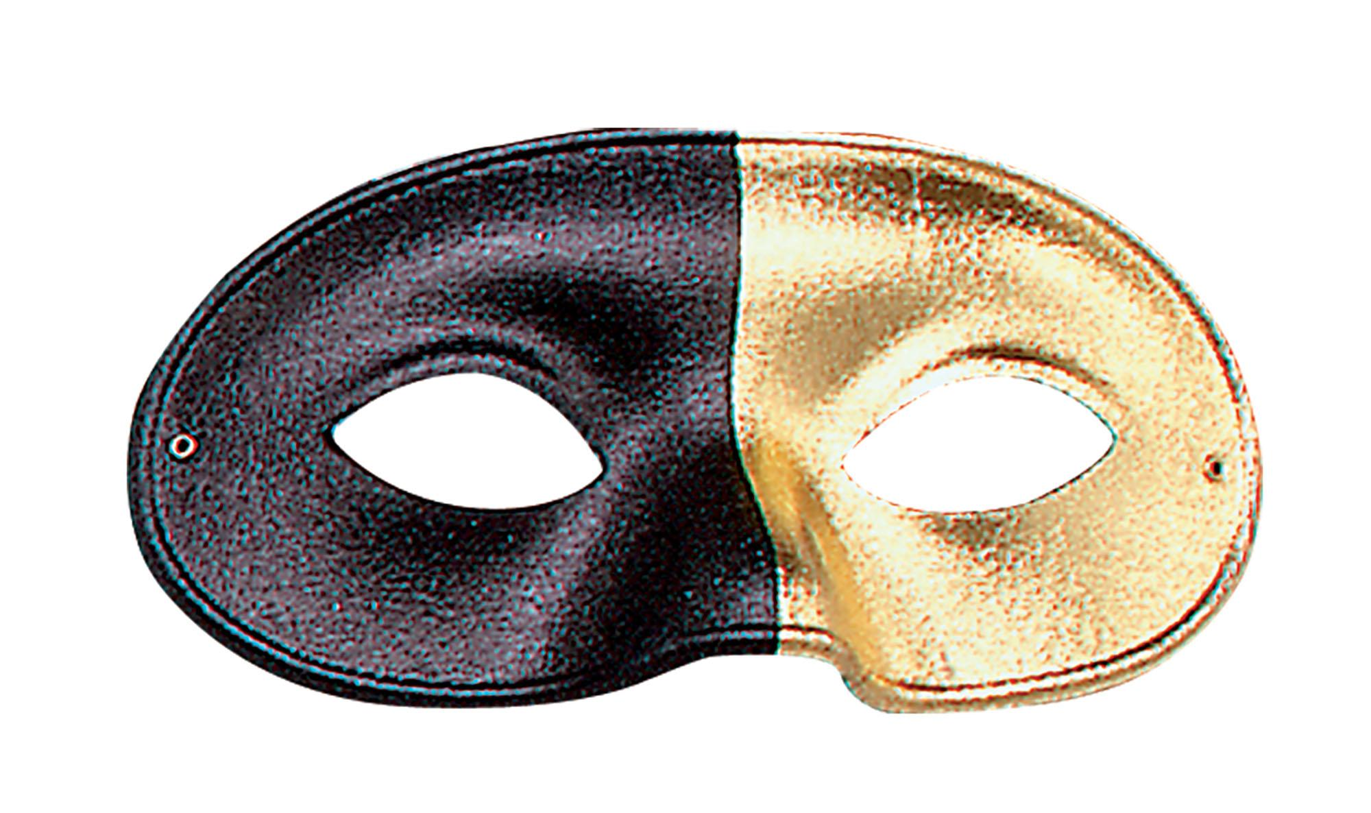 Metallic Two-Tone Eye Mask