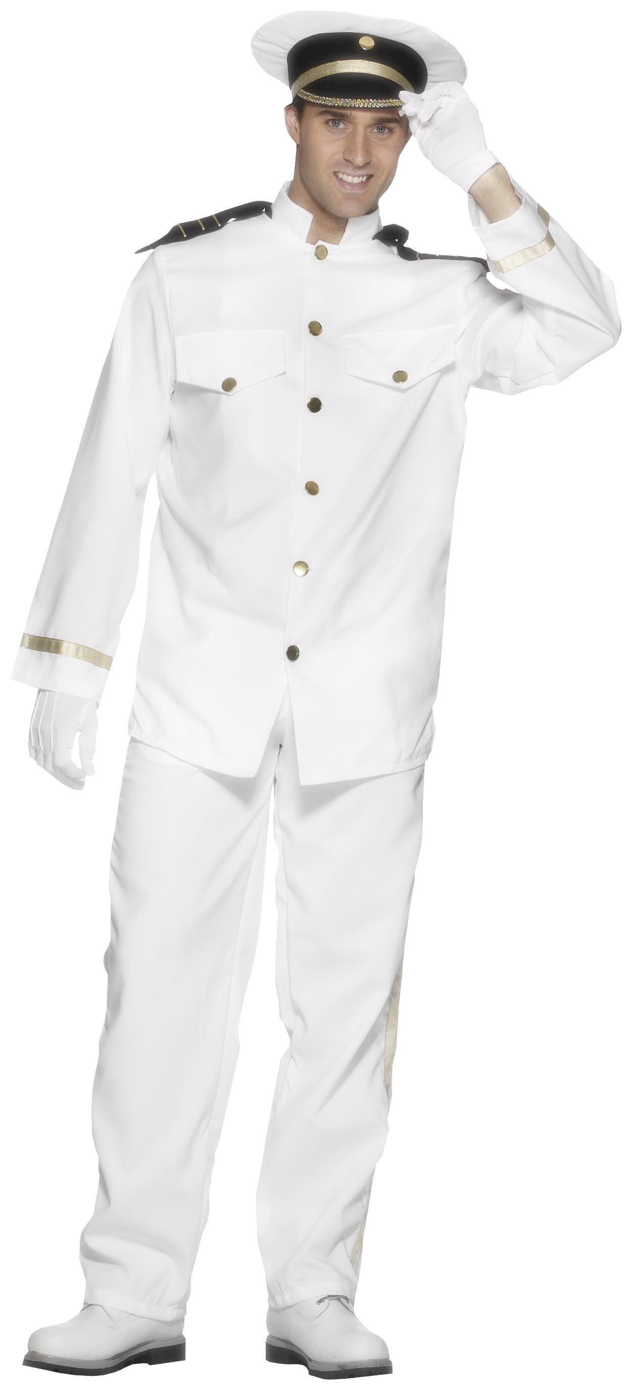 Captain Costume White