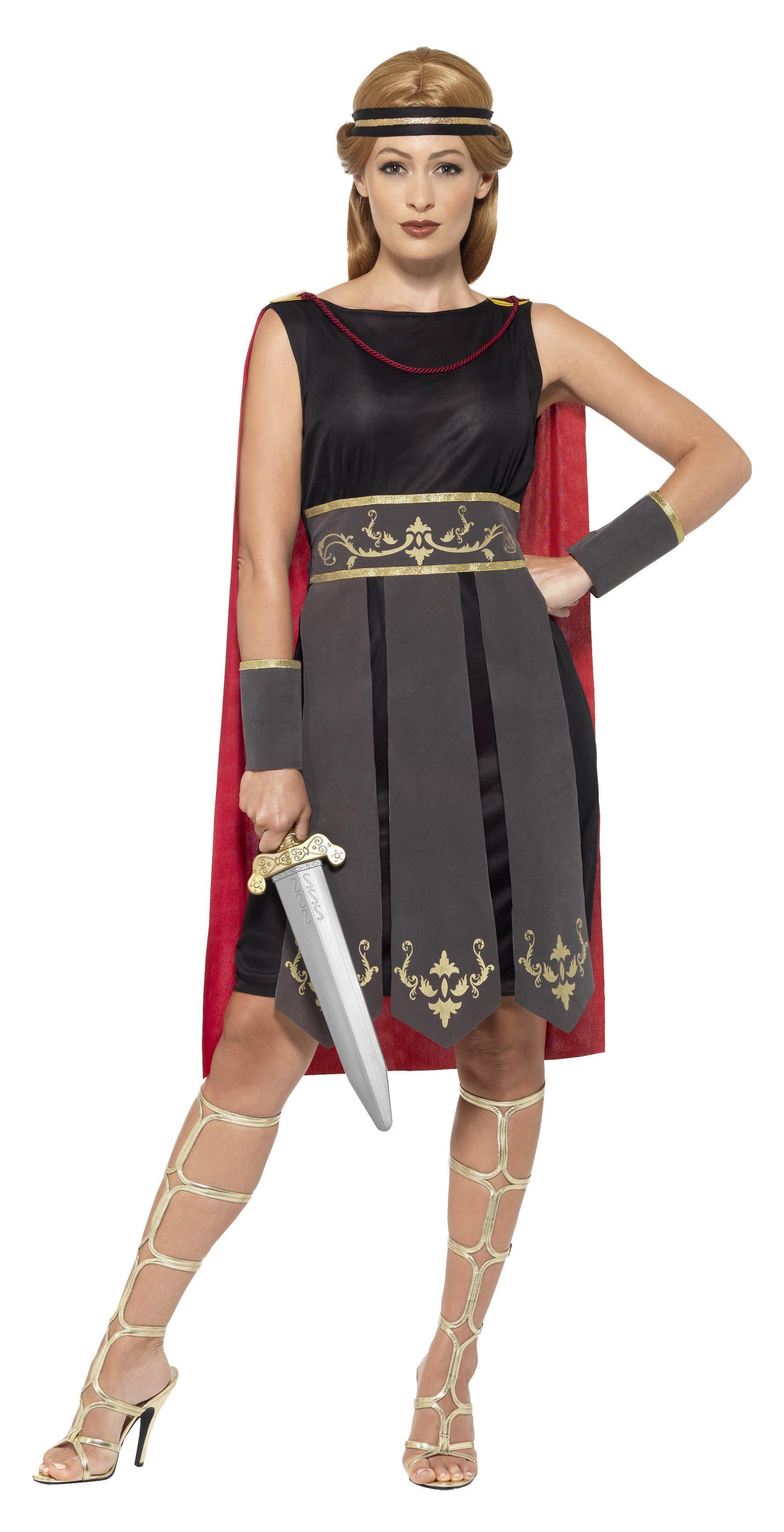 Roman Warrior Costume Black