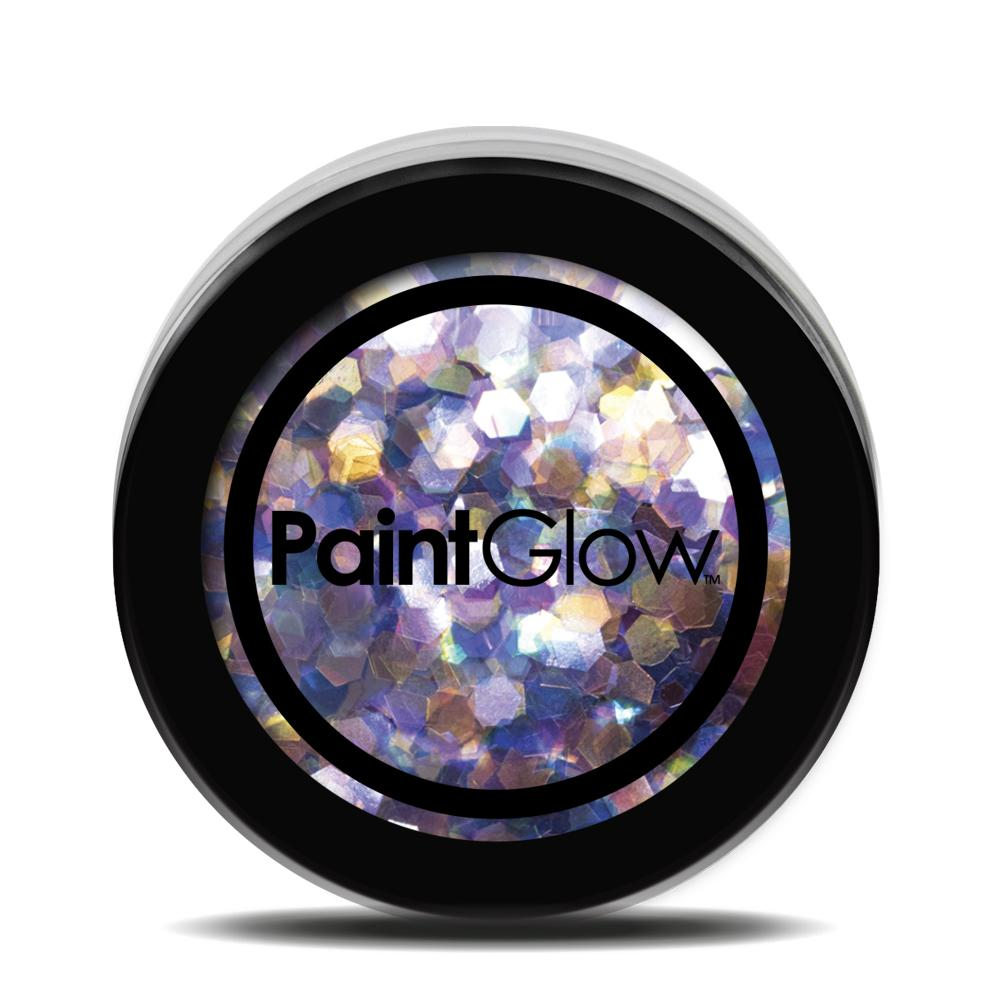Chunky Glitter UV Pink Holographic Dusk till Dawn