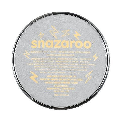 Snazaroo 18ml Metallic Face Paint Silver