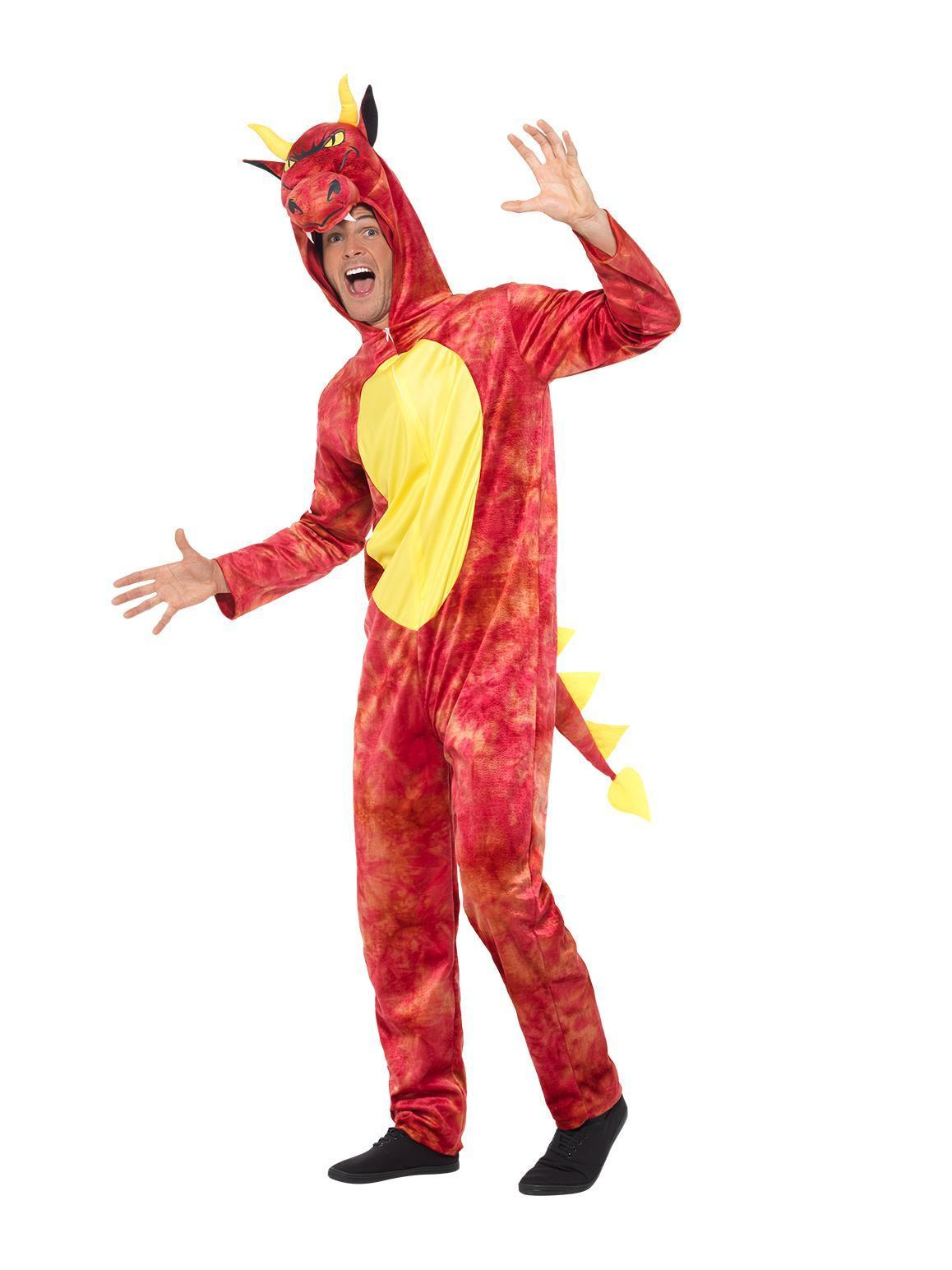 Deluxe Dragon Costume Red