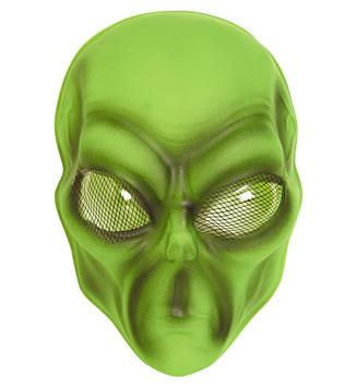 Alien Face Mask Green