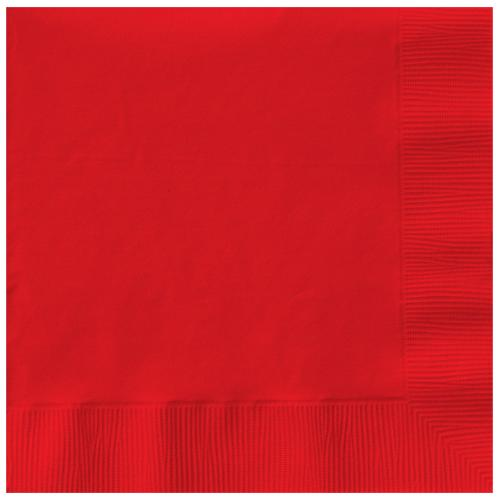 Paper Napkins Apple Red 20 Pack