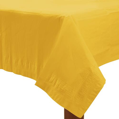 Table Cover Sunshine Yellow Rectangle