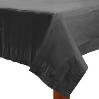 Table Cover Black Rectangle