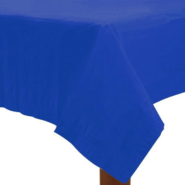 Table Cover Royal Blue Rectangle