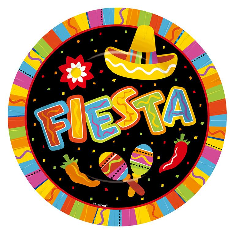 Paper Plates Mexican Fiesta