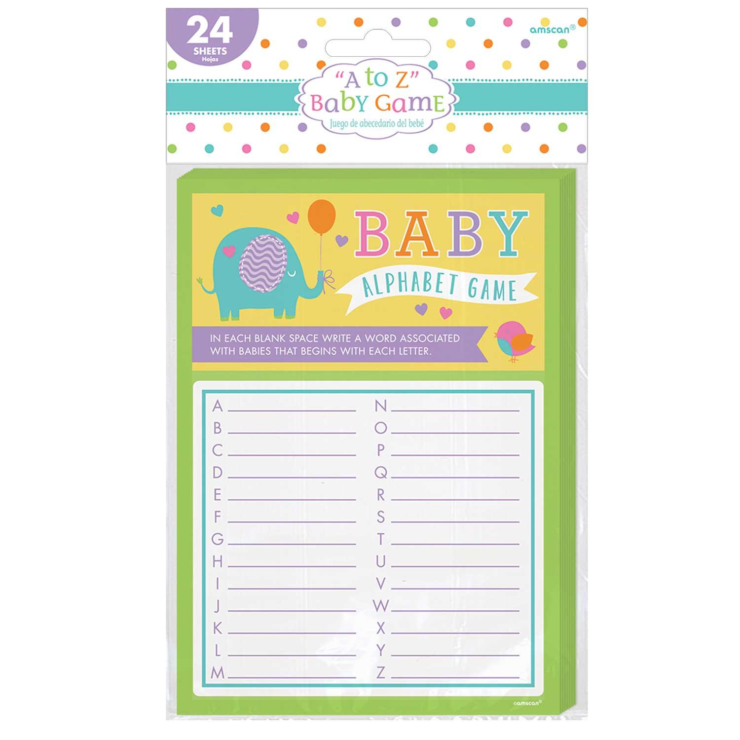 A to Z Baby Game