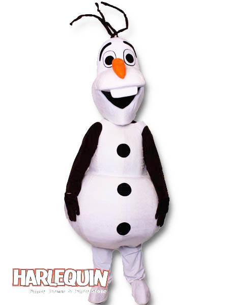 Olaf Style Mascot Hire Costume
