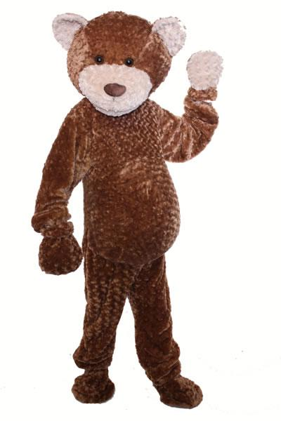 Cuddly Bear Mascot Hire Costume
