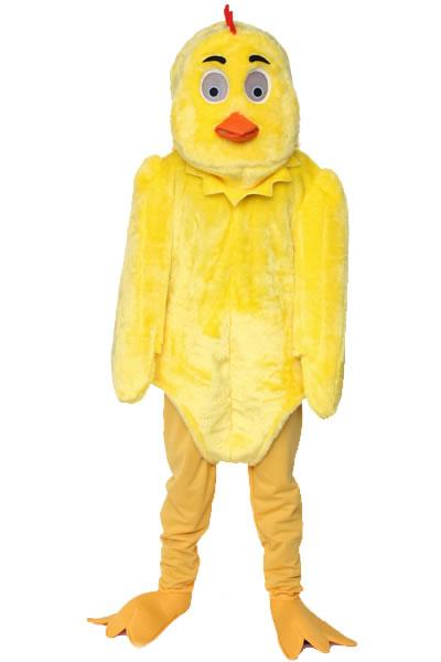 Yellow Chick Mascot Hire Costume