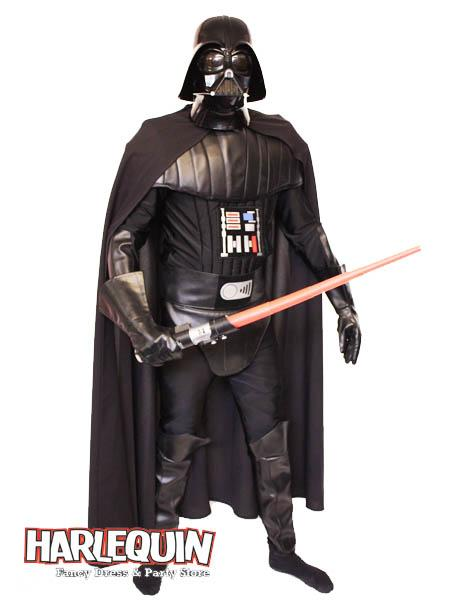 Darth Vader Style Hire Costume