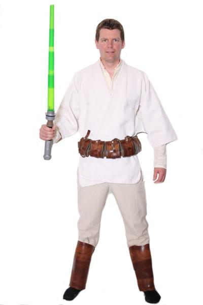 Luke Skywalker Style Hire Costume