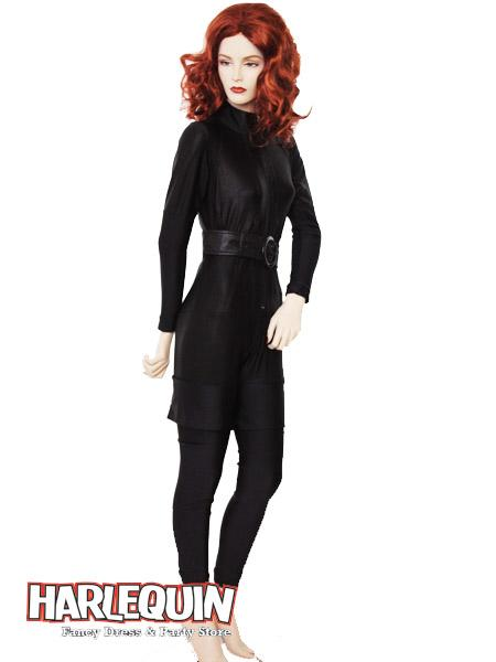 Black Widow Style Hire Costume