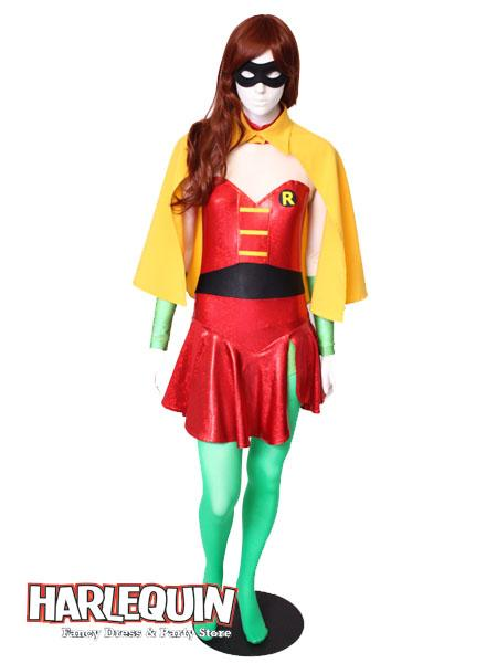 Robin Girl Style Hire Costume