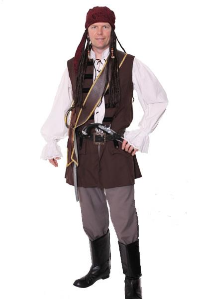 Pirate Man Style 3 Hire Costume