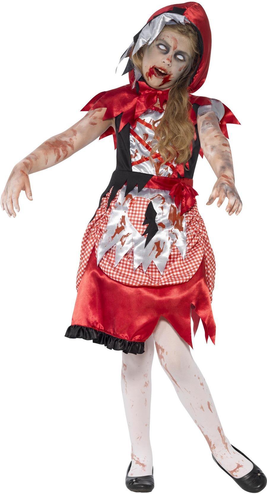 Kids Zombie Miss Hood Costume
