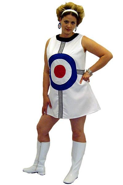 1960s Dress Target Hire Costume